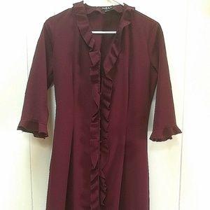 Mexx Jackets & Coats - Merlot Long Jacket & Pants